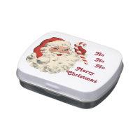 Ho Ho Santa Jelly Belly Candy Tin
