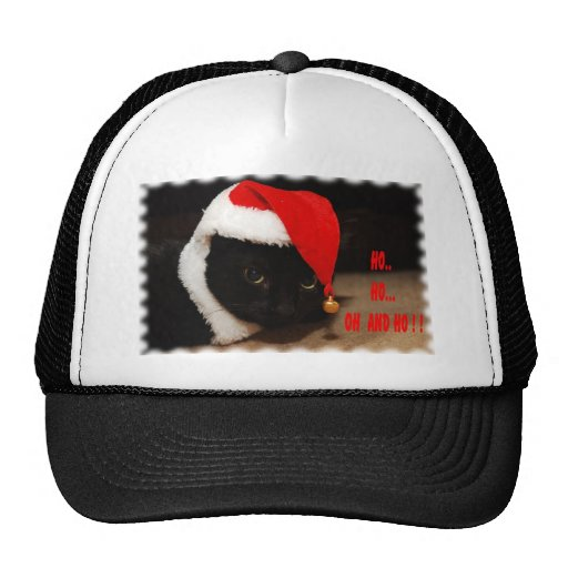 HO HO TRUCKER HAT