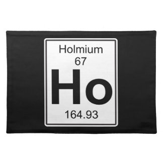 Ho - Holmium Cloth Placemat