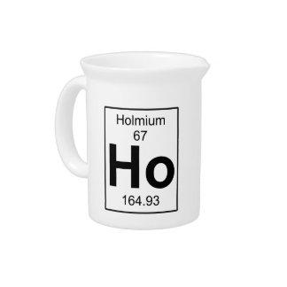 Ho - Holmium Drink Pitcher