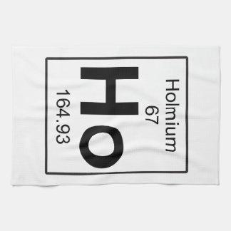 Ho - Holmium Hand Towel