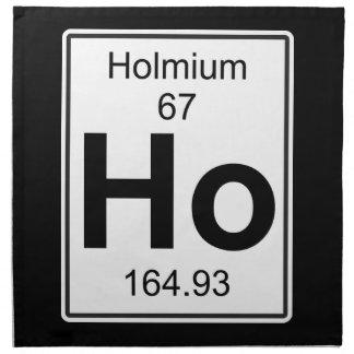 Ho - Holmium Napkin
