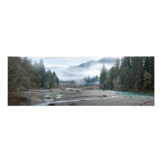 Ho impresión de la foto de la bella arte del río