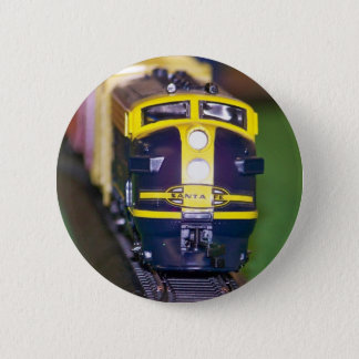 HO Model Train Pinback Button