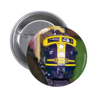 HO Model Train Pinback Button