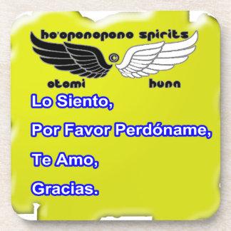 HO OPONOPONO SPIRITS CUSTOMIZABLE PRODUCTS DRINK COASTER