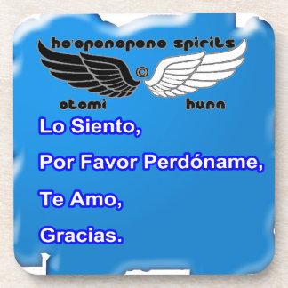 HO OPONOPONO SPIRITS CUSTOMIZABLE PRODUCTS BEVERAGE COASTER