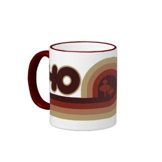 HO retro xmas Ringer Coffee Mug