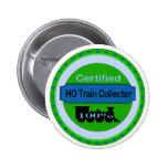 HO Train Collector Pinback/Button