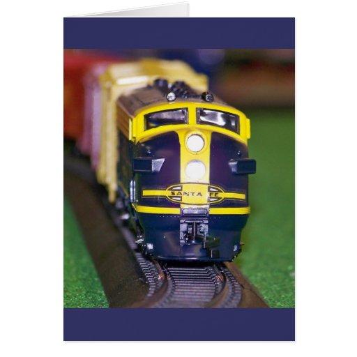 HO tren del modelo Tarjetas