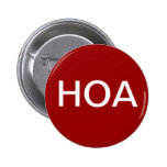 HOA Home Owners Association Button