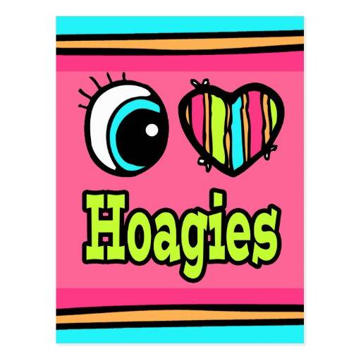 Hoagies brillantes del amor del corazón I del ojo