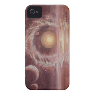 Hoag's Object and Two Moons Case-Mate Blackberry Case