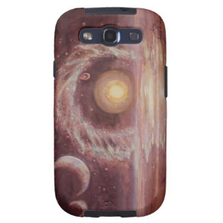 Hoag's Object and Two Moons Samsung Galaxy SIII Covers