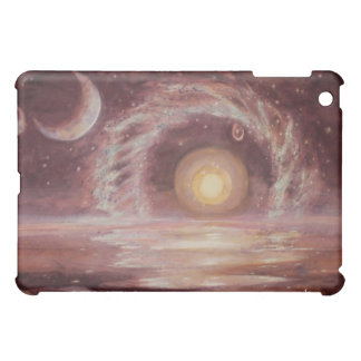 Hoag's Object and Two Moons iPad Mini Cases