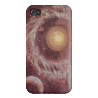 Hoag's Object and Two Moons Cover For iPhone 4