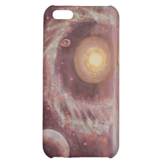 Hoag's Object and Two Moons Cover For iPhone 5C