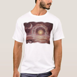 Hoag's Object and Two Moons T-Shirt