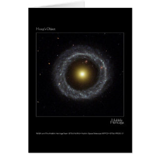 Hoag's Object Hubble Telescope Photo Cards