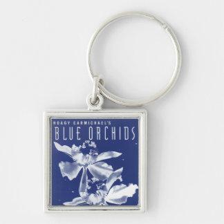 """Hoagy Carmichael's """"Blue Orchids"""" Key Chain"""