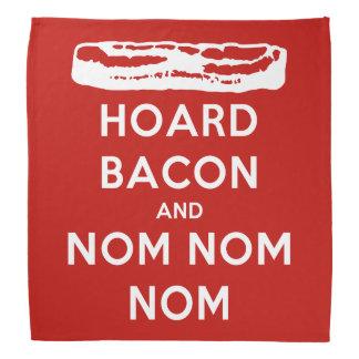 Hoard Bacon and Nom Nom Nom Bandana
