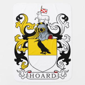 Hoard Coat of Arms Receiving Blankets