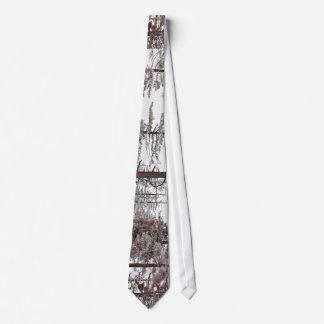 Hoard Frost Trees Neck Tie