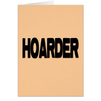 HOARDER blk Card