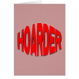 HOARDER buldge Card
