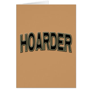 HOARDER CARD