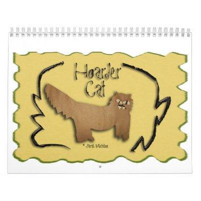 Hoarder Cat Calendar 2014