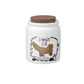 Hoarder Cat TreaTs Jar Candy Jar