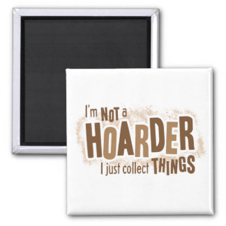 Hoarder 2 Inch Square Magnet
