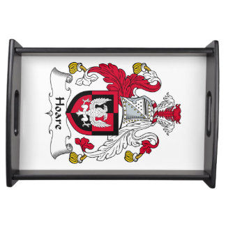 Hoare Family Crest Food Trays
