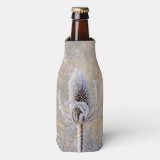 Hoarfrost Teasel Winter Photo Scenic Bottle-Jacket