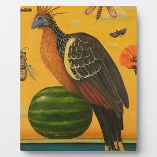 Hoatzin Plaque