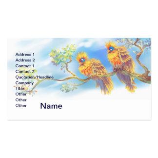 Hoatzins Business Card Template