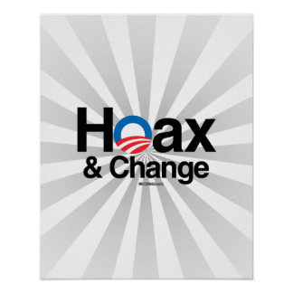HOAX AND CHANGE POSTER