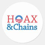 Hoax&Chains Sticker