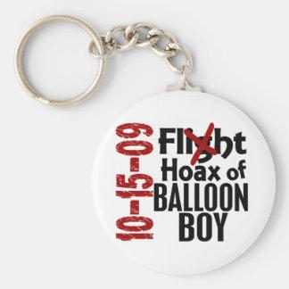Hoax Of Balloon Boy Keychains