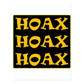 ** HOAX ** POSTCARD