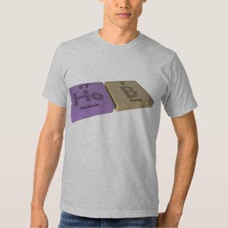 Hob as Ho Holmium and B Boron Shirt