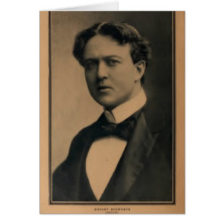 Hobart Bosworth 1914 portrait silent movie actor Card