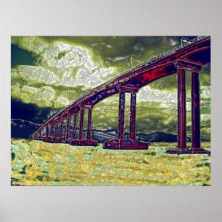 Hobart Bridge Poster