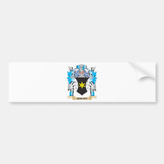 Hobart Coat of Arms - Family Crest Bumper Sticker