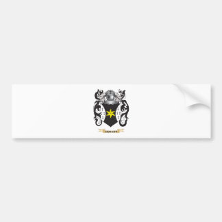 Hobart Coat of Arms Family Crest Bumper Sticker