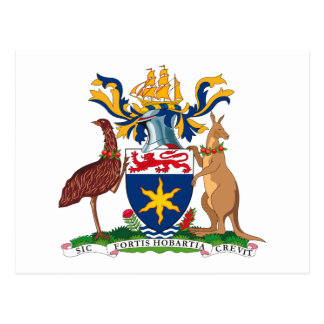 Hobart Coat of Arms Postcard