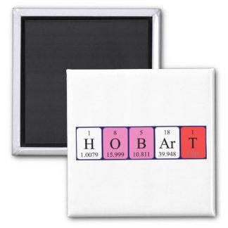Hobart periodic table name magnet