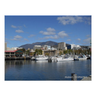 Hobart TASMANIA Poster
