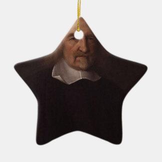 hobbes de Thomas Adorno Navideño De Cerámica En Forma De Estrella